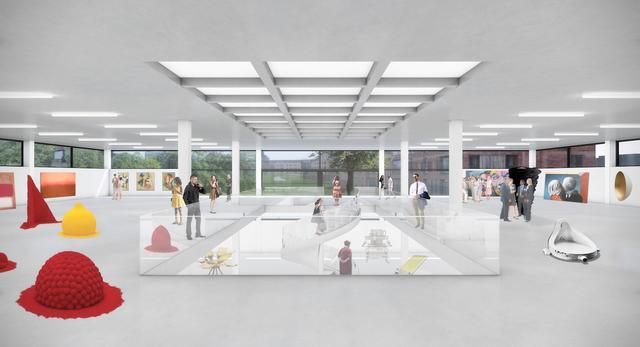 Architektura wnętrz bez podziałów, czyli akademia w Antwerpii