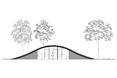 Współczesna architektura pod zielonym dachem