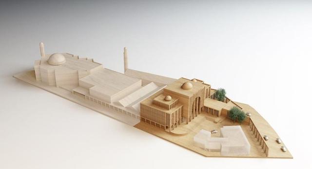 Baitul Futuh, największy meczet w Europie Zachodniej