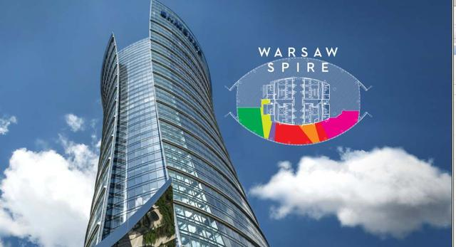 Konkurs architektoniczny - architektura wnętrz Warsaw Spire