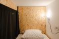 """Hostel Conii - wnętrze """"przedziału"""" w wieloosobowej sali. Architektura wnętrz"""