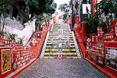 Escadaria Selarón, czyli atrakcja turystyczna Rio