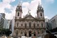 Kościół Candelaria, Rio de Janeiro. Architektura Brazylii