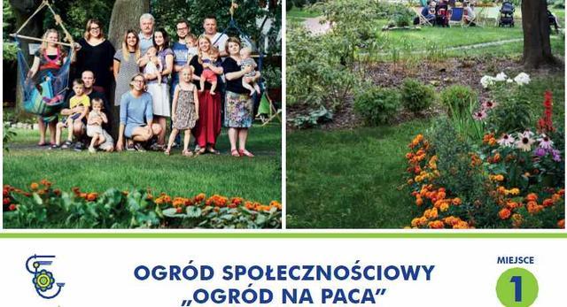 Zielona architektura Warszawy. Ogród na Paca