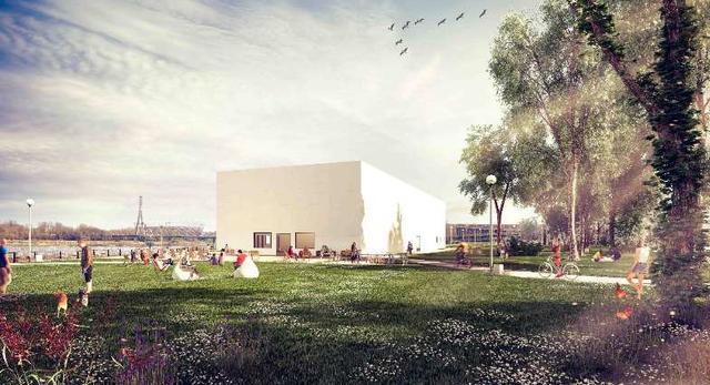 Nowa bryła Muzeum Sztuki Nowoczesnej w Warszawie