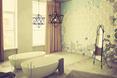 Salon kąpielowy z kaflami Mewa na ścianie