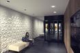 Architektura wnętrz hotelu; kafle Mewa