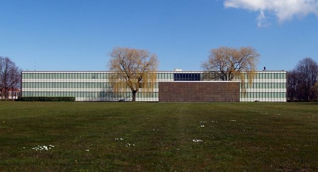 Ratusz w Rødovre, 1952-1956. Projekt: Arne Jacobsen,