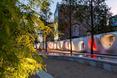 Plac Europejski, Art Walk, czyli pawilon ekspozycyjny
