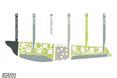 Plan zagospodarowania działki w Dżudda zaprojektowanej przez polskich architektów