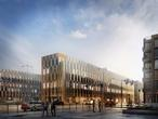 Nowe biurowce w Krakowie, projekt architektoniczny