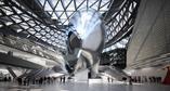 Współczesna architektura Chin: główne lobby budynku MOCAPE