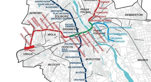 Konkurs architektoniczny: rozbudowa II linii metra