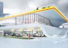 Stacja benzynowa przyszłości w Warszawie