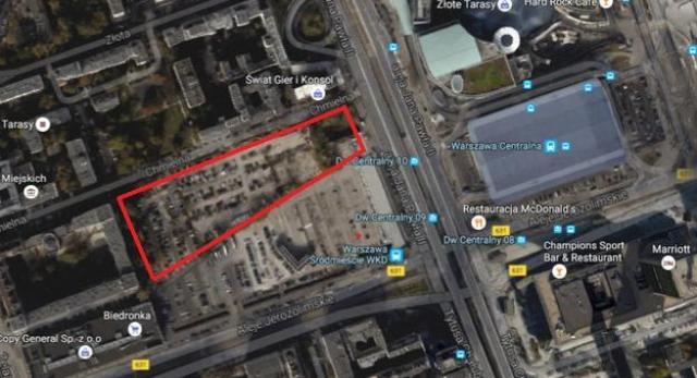 Nowy drapacz chmur w centrum Warszawy - przeszło 300 metrów