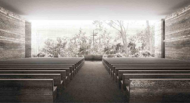 Nowy kościół w Nowych Żernikach, wnętrze