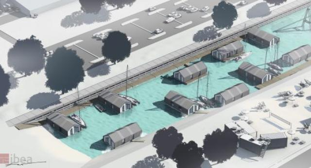 Osiedle domów na wodzie