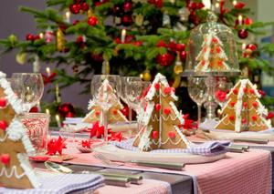 Tradycyjny stół wigilijny