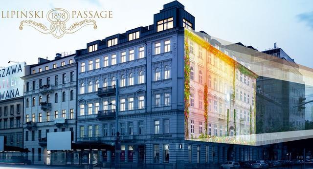 Pokaz mappingu 3d w Warszawie