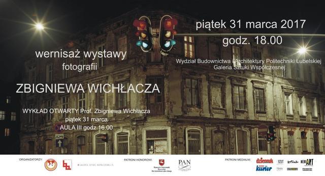 Wernisaż wystawy Zbigniewa Wichłacza