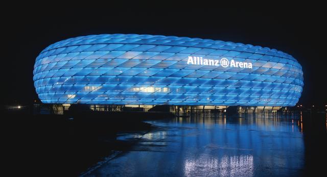Na granicy możliwości - Stadion Allianz Arena w Monachium