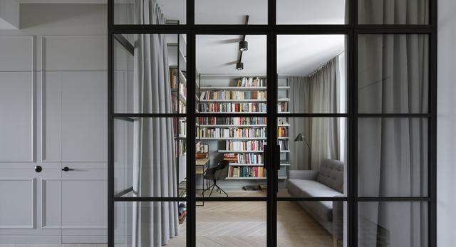 Apartament z prywatną biblioteką