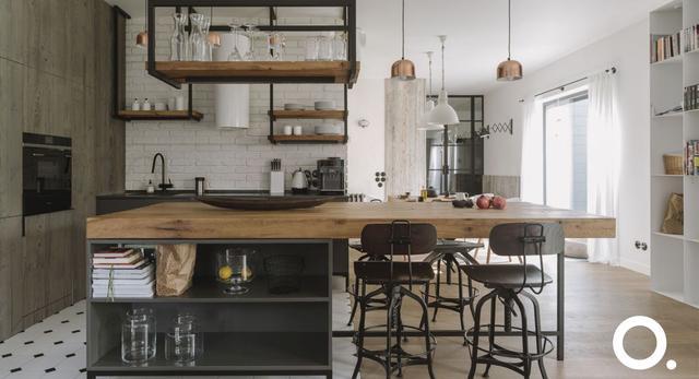 Drewno, szkło i stal w realizacji Studio O.