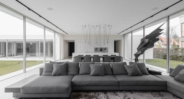 Studio PULVA nagrodzone za projekt wnętrza domu kwadrantowego