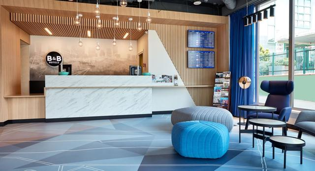 Nowe wnętrza hotelu B&B Hotel Warszawa-Okęcie