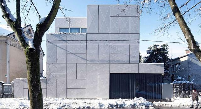 Villa Criss Cross – projekt, który zachwyca