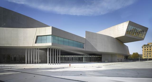 Narodowe Muzeum XXI wieku w Rzymie - MAXXI