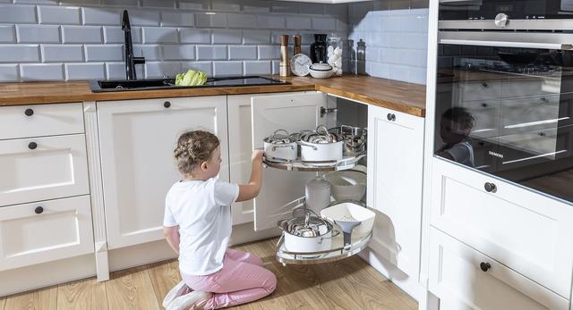 Ergonomia kuchennego narożnika