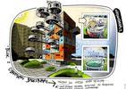 8 nietypowych balkonów. Współczesna architektura i design