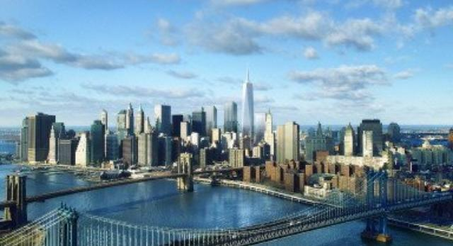 Wieża One WTC góruje nad zabudową Nowego Jorku. Szklana bryła WTC znowu jest najwyższa!
