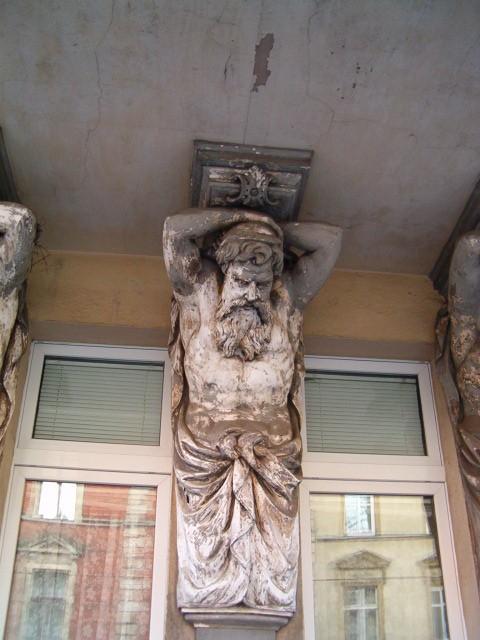 Atlant, gigant, telamon