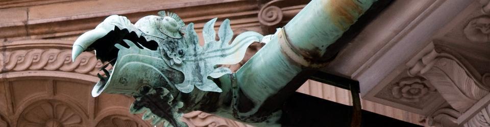 Gargulec kaplicy Zygmunta na Wawelu