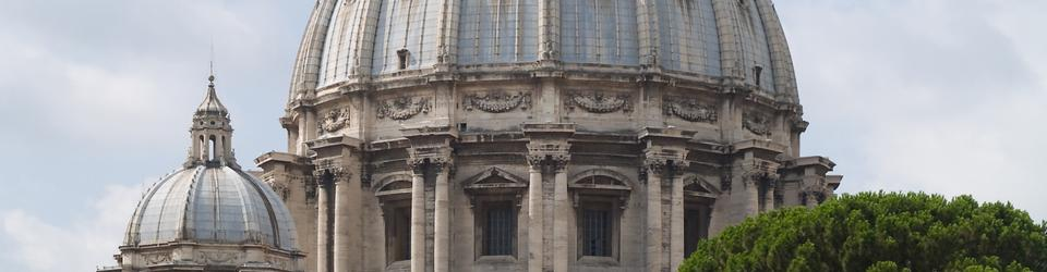 Kopuła Bazyliki Św. Piotra na Watykanie
