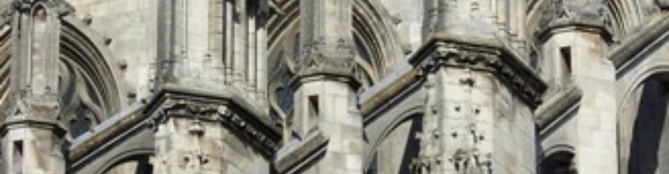 Pinakle na katedrze w Nantes