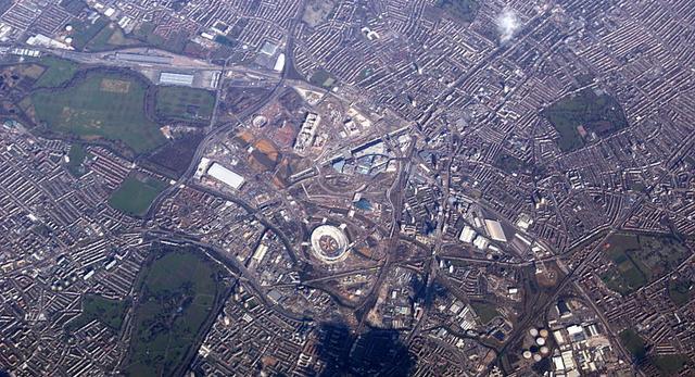 Park Olimpijski w Londynie Letnie Igrzyska Olimpijskie 2012 zbliżają się wielkimi krokami