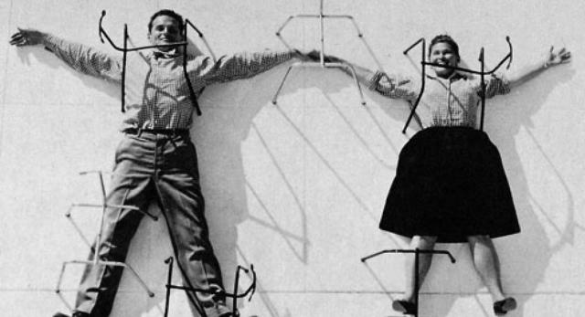 Niestety drodzy Panowie, twórzczość Charles'a Eames'a nie istniałaby bez geniuszu jego żony Ray Eames