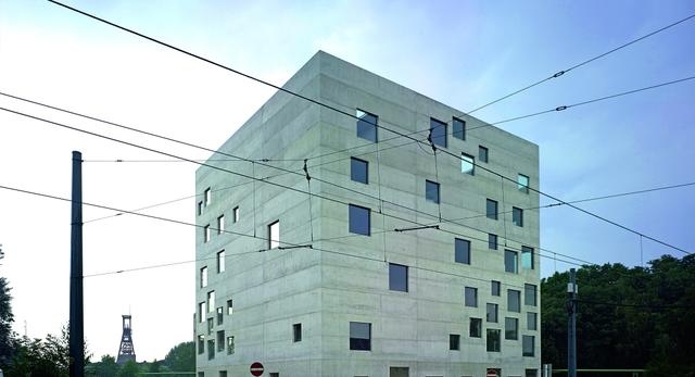 Nowy budynek Szkoły Zarządzania i Dizajnu Zollverein w Essen