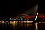 Erasmusbrug w Rotterdamie