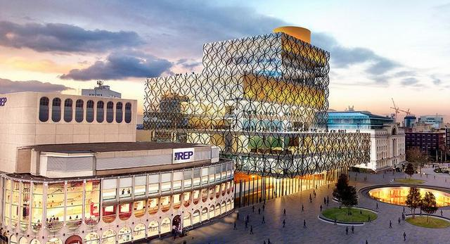 biblioteka w Birmingham projektu Mecanoo