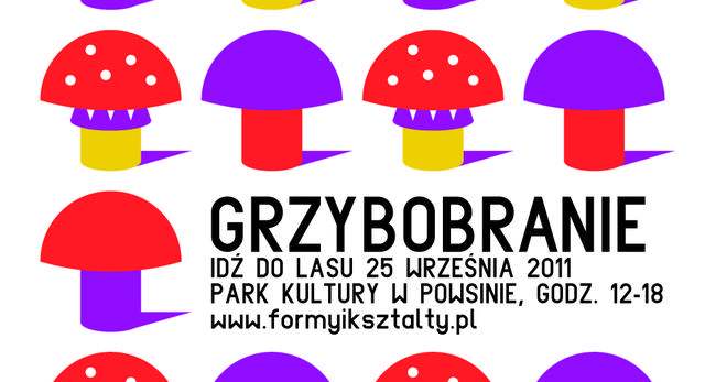 Grzybobranie w Warszawie