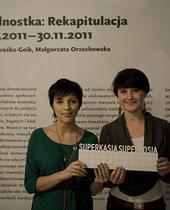 Katarzyna Jendrośka-Goik i Małgorzata Orzechowska