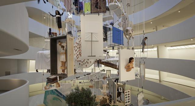 wystawa Maurizio Cattelan: All