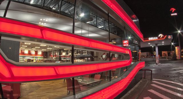Designerska stacja paliw Orlen