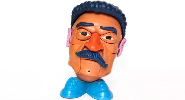 Sztuka współczesna - głowy dyktatorów
