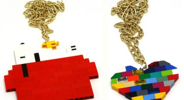 LEGO Dizajn: fascynujące meble i gadżety inspirowane klockami Lego