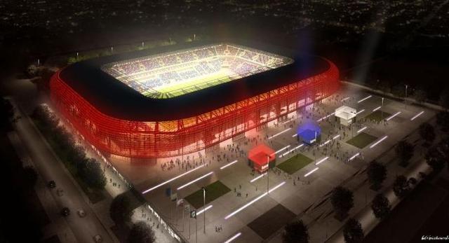 Nowy stadion Górnika Zabrze
